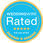 Wedding Wire Rated - 50+ Reviews