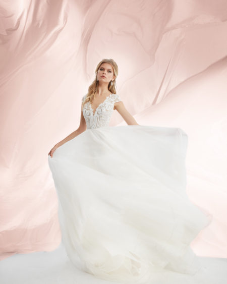 Blush Hayley Paige Bridal Fall 2017 Style 1753 Dakota 6