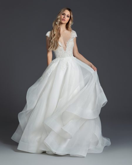 Blush Hayley Paige Bridal Fall 2019 Style 1950 Willow