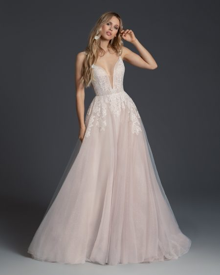 Blush Hayley Paige Bridal Fall 2019 Style 1957 Fiona