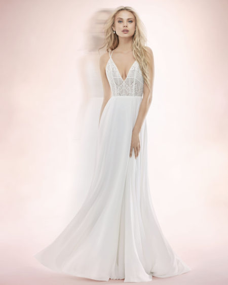 Blush Hayley Paige Bridal Spring 2017 Style 1707 Bunny 2