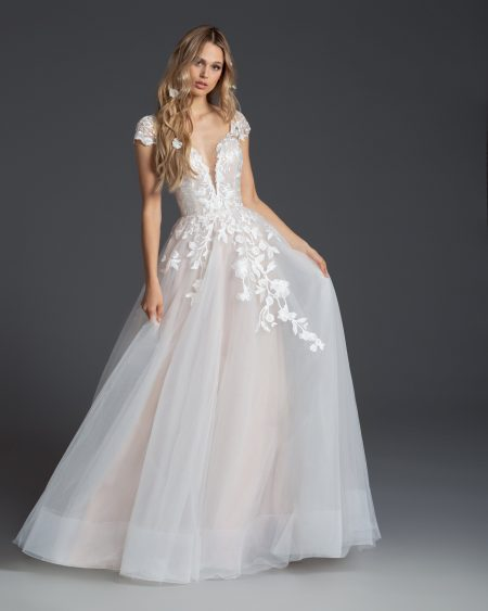 Blush Hayley Paige Bridal Fall 2019 Style 1954 Theo