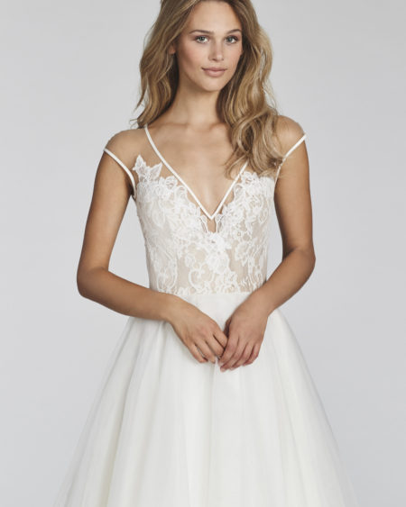 Blush Hayley Paige Bridal Spring 2017 Style 1703 Val 0