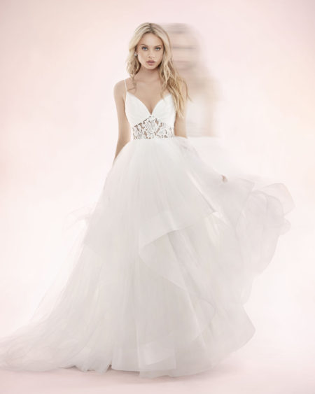 Blush Hayley Paige Bridal Spring 2017 Style 1705 Dallas 5