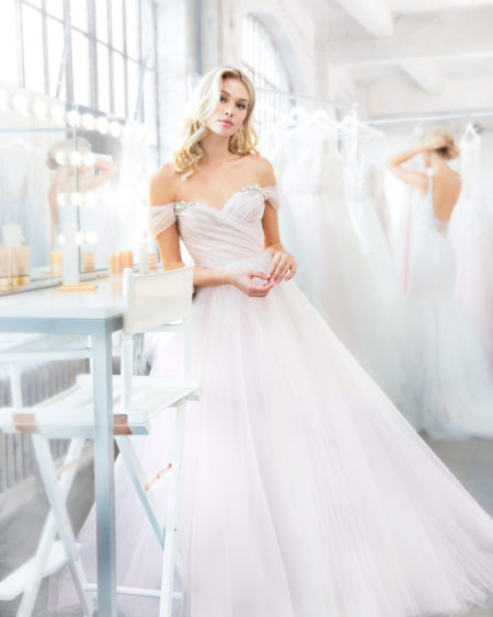 Blush Hayley Paige Bridal Spring 2018 Style 1809 Milo 6