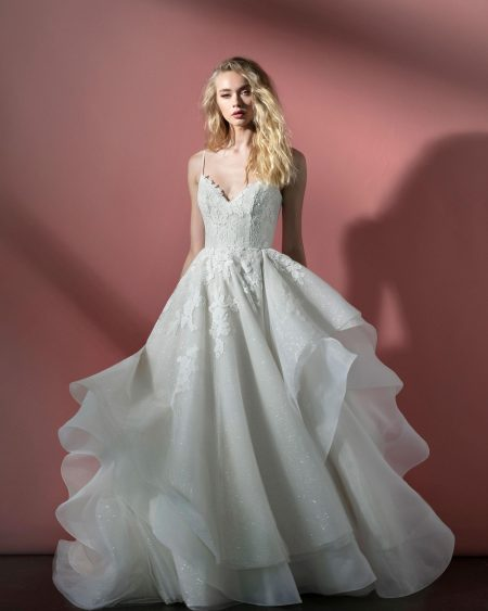 Blush Hayley Paige Bridal Spring 2021 Style 12100 Scout