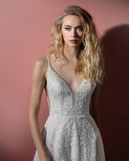 Blush Hayley Paige Bridal Spring 2021 Style 12110 Wilma 0